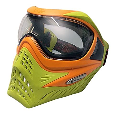 Vforce Grill Special Colour Edition Goggles - Orange on Lime