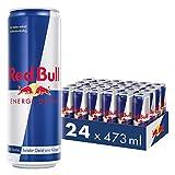 Red Bull Energy Drink 24 x 473 ml Dosen Getränke 24er Palette