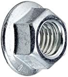 Dresselhaus tuercas hexagonales con reborde y bloquea ensamblado clase 8, M 10 mm, 50 pcs, galvanizado