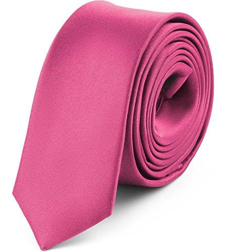 Ladeheid Cravate Étroite Varieté de Couleurs Accessoire Vêtement Homme - SP-5 (150cm x 5cm)