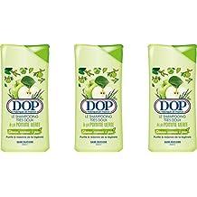 Dop - Shampooing Très Doux à La Pomme Verte Pour Cheveux Normaux à Gras - 400 ml - Lot de 3