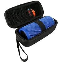 Teckone EVA Hard Case Voyage Sac de transport pour JBL flip 1/2/3 Flip 4 Portable sans fil Bluetooth Speaker (Noir)