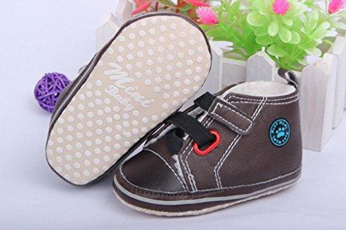 Bebê Ykk Marrom Inverno Sapato Lauflernschuhe13 Sapatos Sorrir Engatinhando pqRtp