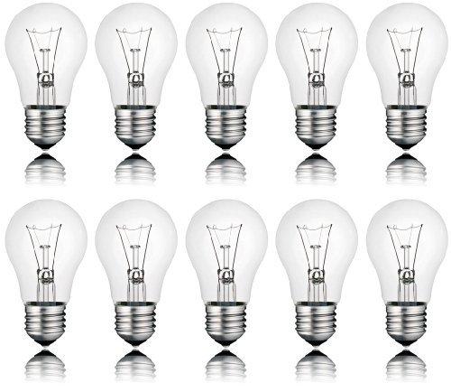 Spectrum w0j80564 set di 10 lampadine da 100 w e27