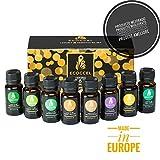 Aceites esenciales naturales, aceite esencial de lavanda, romero,...