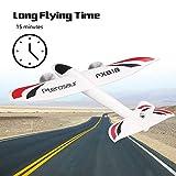 FairytaleMM FX FX-818 2.4G 2CH Fernbedienung Segelflugzeug 475mm Spannweite RC Flugzeug Drone White