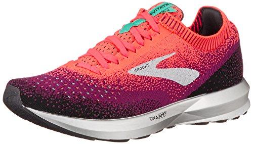 Brooks Levitate 2, Zapatillas de Running para Mujer, (Pink/Black/Aqua 678), 38.5 EU