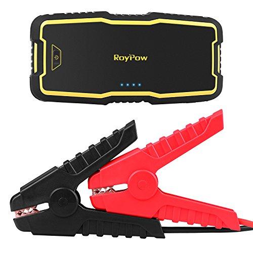 Preisvergleich Produktbild RoyPow IP66 Tragbare Auto Starthilfe (Benzinmotoren bis zu 8.0L & Dieselmotoren bis zu 5.0L) Autobatterie Anlasser Jump Starter Powerbank 120W 12V DC Akku Power Pack