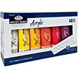 Royal & Langnickel 120ml Acrylic Painting Colour (Pack of 12)