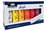 Royal & Langnickel ACR120-12 Assortiment de 12 Tubes de peinture acrylique 12 x 120 ml