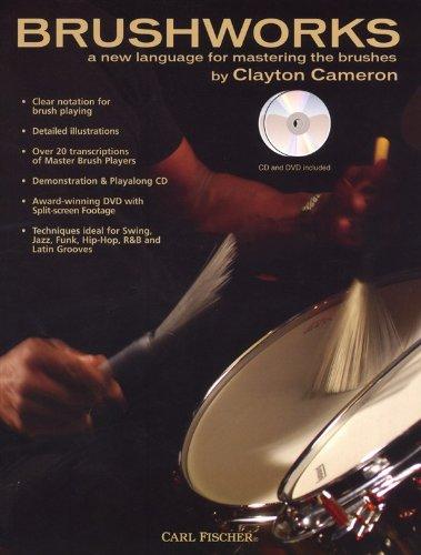 clayton-cameron-brushworks-book-dvd-cd-fur-schlagzeug