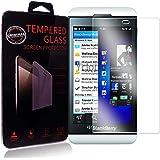 Ycloud Protector de Pantalla para Blackberry Z10 Cristal Vidrio Templado Premium [9H Dureza][Alta Definicion]