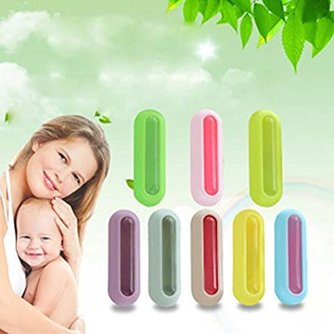 Indexp Mosquito Repellent Clips, Anti Pest Insect Safe Capsule(Random Color, 40x12mm)