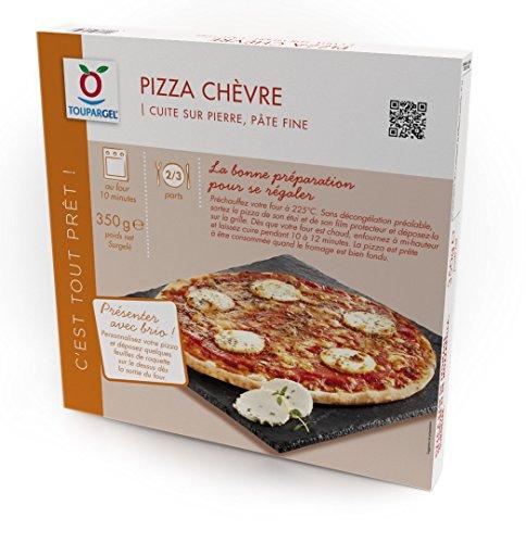 TOUPARGEL - Pizza chèvre - 350 g - Surgelé