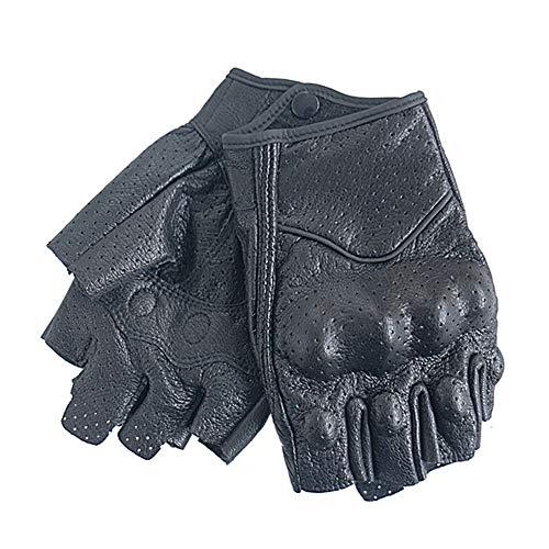 Guanti moto in pelle dito medio duro knuckle moto guanti all'aperto guanti da moto traspirante per l'escursionismo a cavallo lavoro guanti sportiv