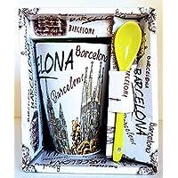 MI RINCON Taza DE Cafe Grande con Motivo DE LA Ciudad DE Barcelona
