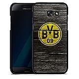 DeinDesign Samsung Galaxy A5 (2017) Hülle Case Handyhülle Borussia Dortmund BVB Holzoptik