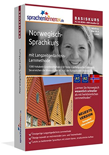 Sprachenlernen24.de Norwegisch-Basis-Sprachkurs: PC CD-ROM für Windows/Linux/Mac OS X +...