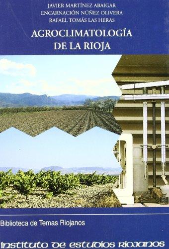 Agroclimatología de La Rioja por Encarnación Nuñez Olivera