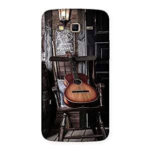 Gorgeous Old Guitar On Chair Back Case Cover for Samsung Galaxy Grand 2