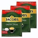Jacobs Crema cialde, Barattolo Confezione, per Tutte Le Macchine Pad, 108caffè Pads, á 6.6G