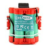 Creabest 18v 2500mAh Li-ion Batterie de Remplacement pour Tondeuse Robot Husqvarna Automower 105 308 305 Remplace 574 47 68-01 574 47 68-02 574 47 68-03