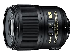 Nikon AF-S Nikkor 60mm F/2.8G ED Prime Lens for Nikon DSLR Camera