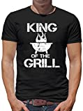 TLM King of the Grill T-Shirt Herren L Schwarz
