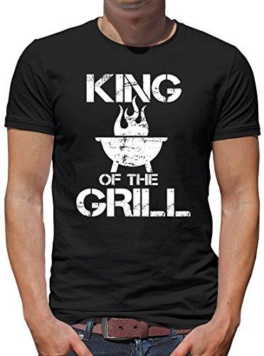 TLM King of the Grill T-Shirt Herren L Schwarz