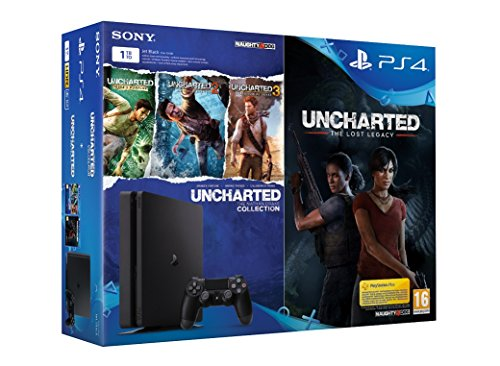 Pack PS4 1 To  + Uncharted The Lost Legacy + Uncharted Collection