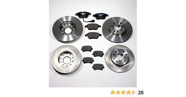 Bremsbel/äge Bremsbelagsatz Set hinten Hinterachse Bremsscheiben hinten /Ø260mm