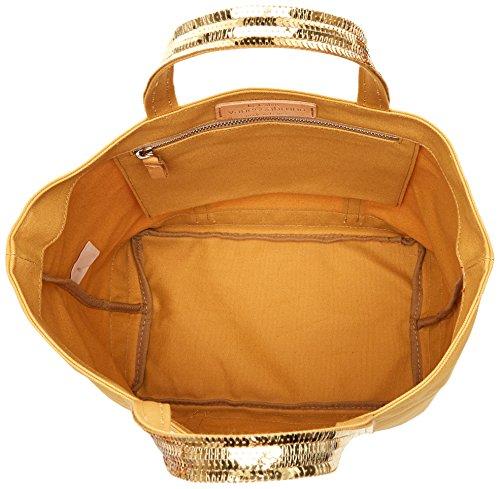 Soleil 16x30x43 Brise Bruno Paillettes Tote Vanessa Coton centimeters Medium Gelb Damen Cabas Et gPnfHq