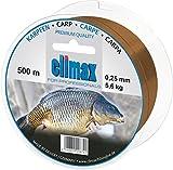 Climax Zielfischschnur Karpfen400m/0,35mm, Farbe Braun
