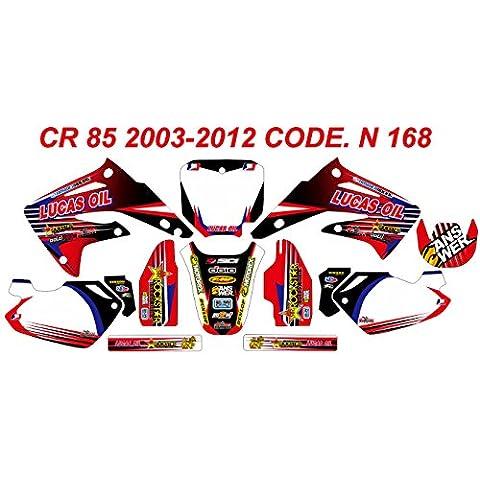 N 168 HONDA CR 85 GRAPHICS KIT MODELLO 2003-2012