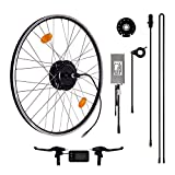 Das-Kit E-Bike Elektrofahrrad Conversion Kit, 36V 250W Umbausatz mit 35-45Nm Bafang Heckmotor, L6BT LCD Display, für 7 fach Schraubkranz Aufnahme und 6 Loch Scheibenbremsaufnahme geeignet