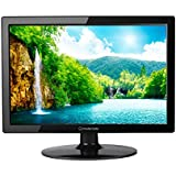 Modernista 39.1cm (15.4 inches) LED Monitor with VGA & HDMI Ports (Black)