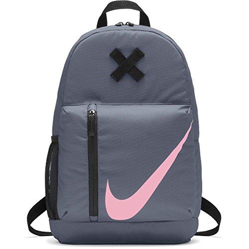 Nike Y NK ELMNTL BKPK, Mochila Unisex Infantil, Multicolor (Ashen Slate/Black/Pi), 15x24x45 cm (W x H x L)