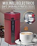 VITAL ESPRESSO. MOLINILLO DE CAFE, FRUTOS SECOS Y ESPECIAS. POTENCIA 150 watios, CAPACIDAD DE 50...