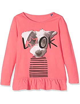 Tom Tailor Kids Cute Longsleeve with Print, Camisa Manga Larga para Niñas