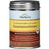 """Herbaria """"Gaumenschmaus""""  Bratkartoffelgewürz, 1er Pack (1 x 100 g Dose) - Bio"""