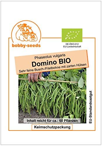 Bobby-Seeds BIO-Bohnensamen Domino Buschbohne Portion
