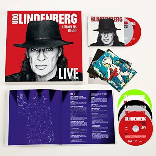Stärker als die Zeit - LIVE (Super Deluxe Box 4 CD /3 DVD) -