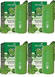 Biotique Basil and Parsley soap 75g (Pack of 4)