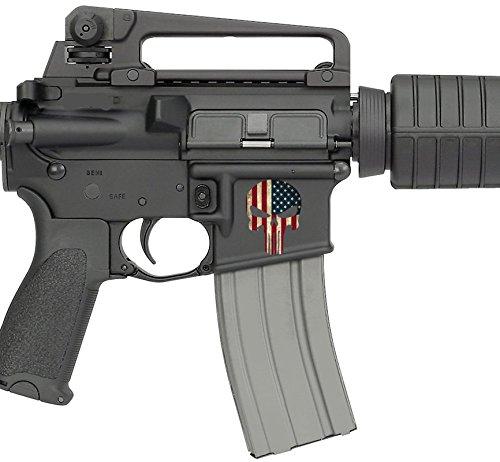 AR15 Untere Aufkleber (US-Flagge) (Remington Aufkleber)