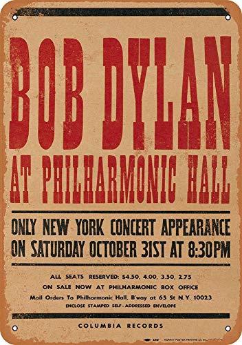 Yohoba Blechschilder 1964 Bob Dylan at Philharmonic Hall Vintage Look 30,5 x 45,7 cm (Vintage Dylan Bob)