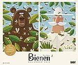 Bienen - Kalender 2019 - Piotr Socha - DuMont-Verlag - Wandkalender mit Illustrationen - Imker-Kalender - 58,4 cm x 48,5 cm