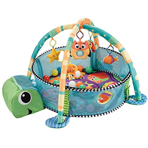 Babydecke Marine Ball Pool Fitness Rack 30 Ocean Ball Zaun Spieldecke Liegen und Spielen, Sitzen und Spielen, Geeignet für 0-36 Monate -