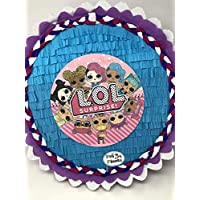 Pignatta LOL surprise Dolls. Pentolaccia, piñata. Gioco divertente e immacabile per le feste di compleanno di bambine a tema LOL. Personalizzabile.