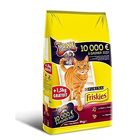 Friskies chat boeuf 7.5kg + 1.5 kg grt Prix Unitaire - Envoi Rapide Et Soignée