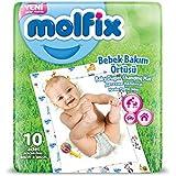 MOLFIX Aleses Jetables 60X60 CM Paquet de 10